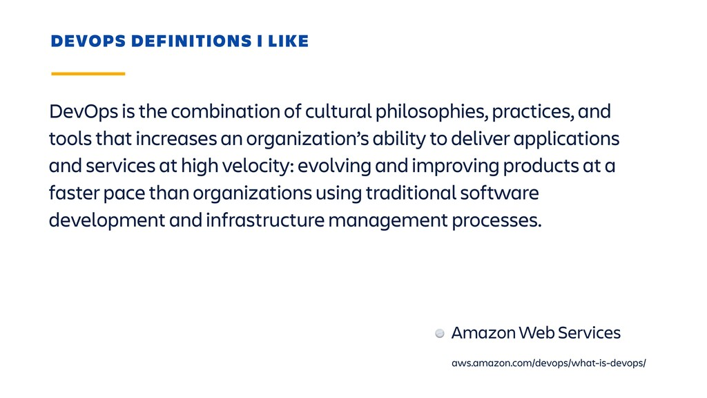 DevOps is the combination of cultural philosoph...