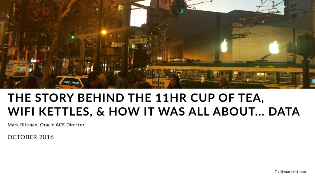 T : @markrittman THE STORY BEHIND THE 11HR CUP ...