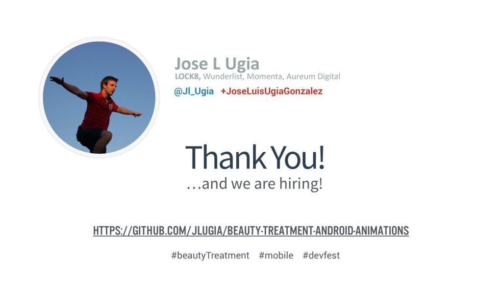 Thank You! Image Placeholder Jose L Ugia ...