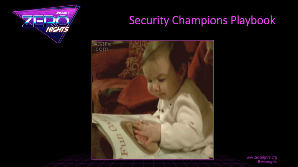 Security Champions Playbook