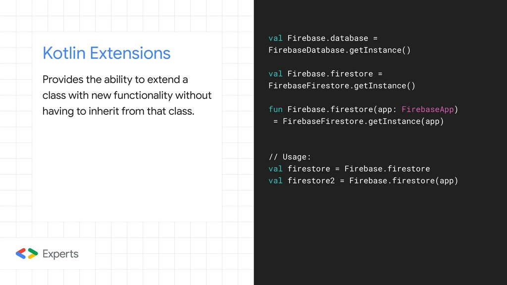 Kotlin Extensions Provides the ability to exten...