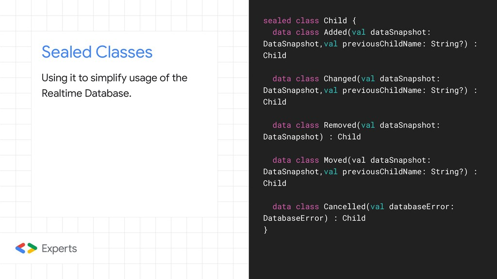 Sealed Classes Using it to simplify usage of th...