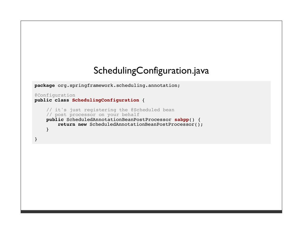SchedulingConfiguration.java package org.spring...