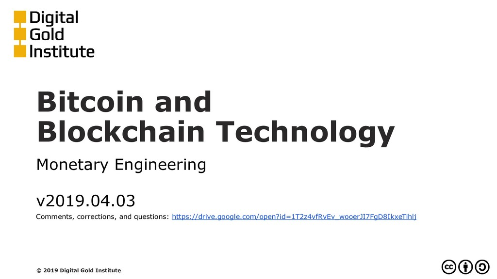 Bitcoin and Blockchain Technology Monetary Engi...