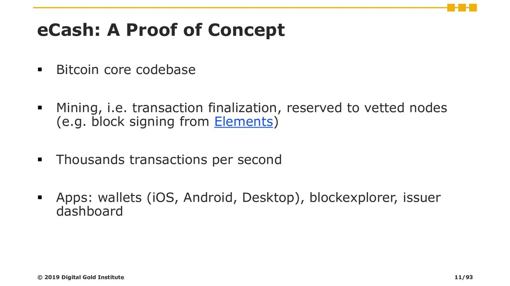 eCash: A Proof of Concept ▪ Bitcoin core codeba...