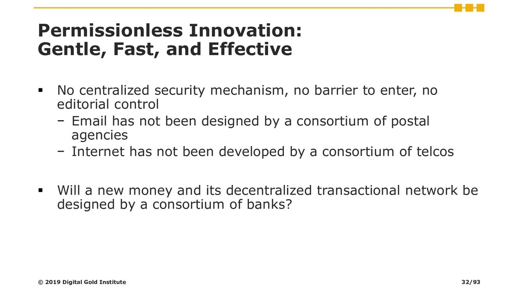 Permissionless Innovation: Gentle, Fast, and Ef...
