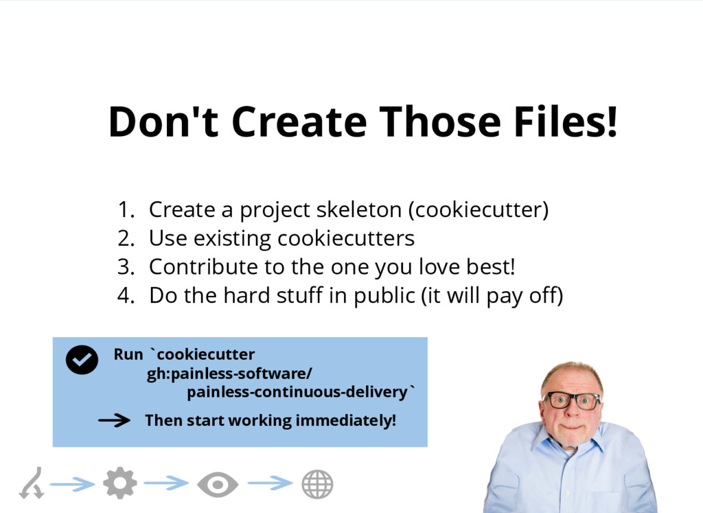 Don't Create Those Files! 1. Create a project s...