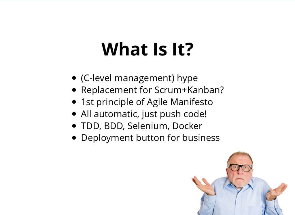 (C-level management) hype Replacement for Scrum...