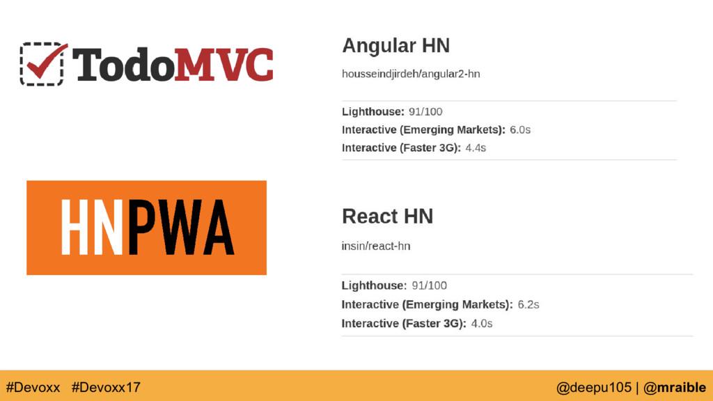 #Devoxx @deepu105 | @mraible #Devoxx17