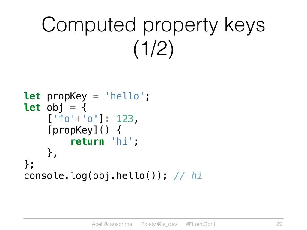 Axel @rauschma Frosty @js_dev #FluentConf Compu...