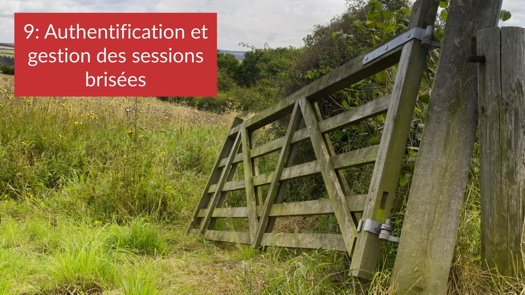 9: Authentification et gestion des sessions bri...