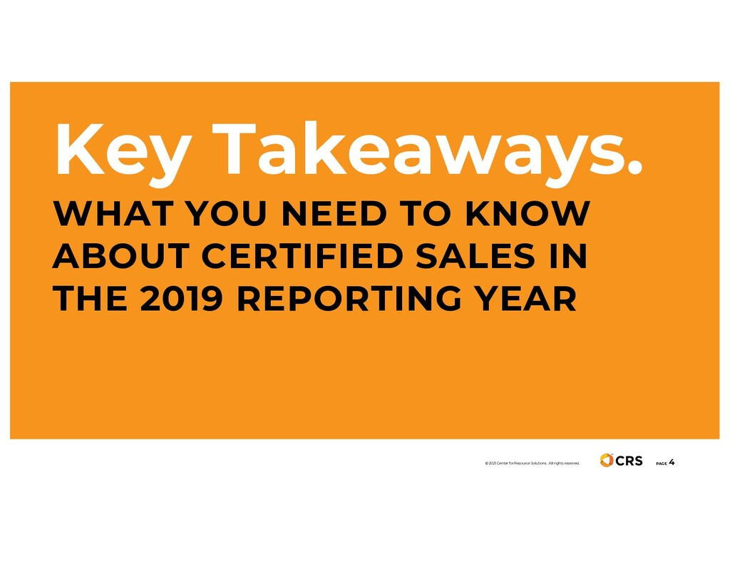 Key Takeaways. WHAT YOU NEED TO KNOW ABOUT CERT...