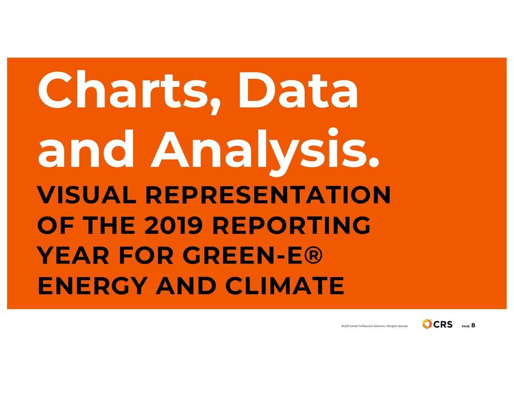 Charts, Data and Analysis. VISUAL REPRESENTATIO...