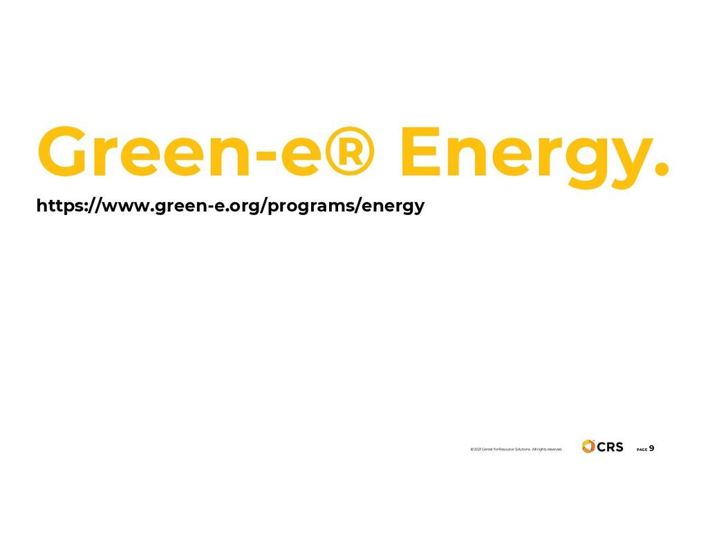 Green-e® Energy. https://www.green-e.org/progra...