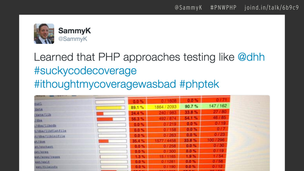 @SammyK #PNWPHP joind.in/talk/6b9c9