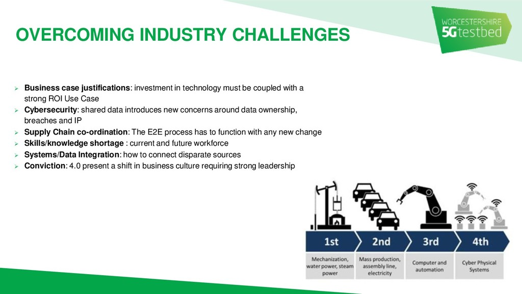 OVERCOMING INDUSTRY CHALLENGES ➢ Business case ...