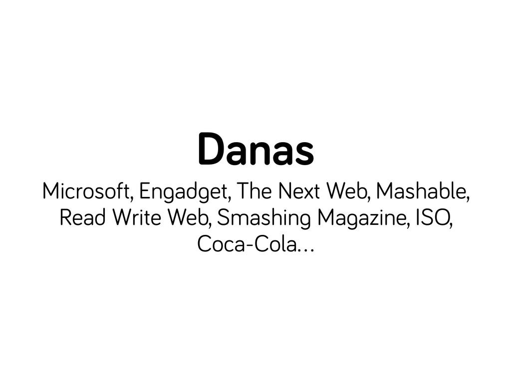 Danas Microsoft, En ad et, The Next Web, Mashab...