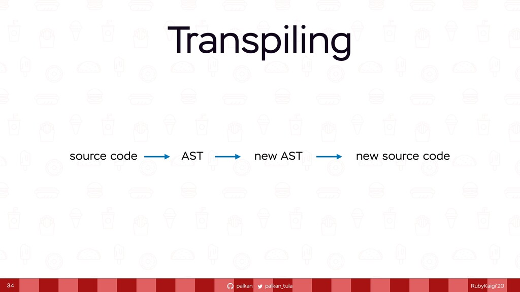 palkan_tula palkan RubyKaigi'20 Transpiling 34 ...