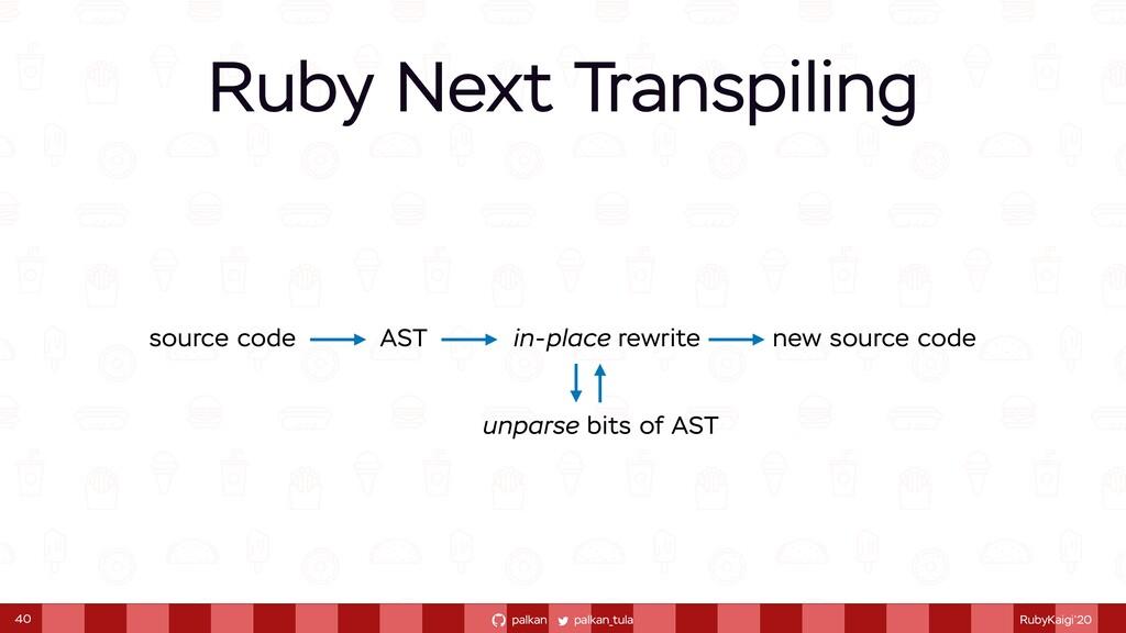 palkan_tula palkan RubyKaigi'20 Ruby Next Trans...