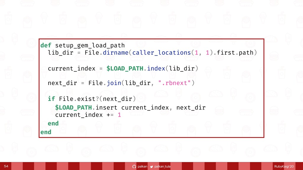 palkan_tula palkan RubyKaigi'20 def setup_gem_l...
