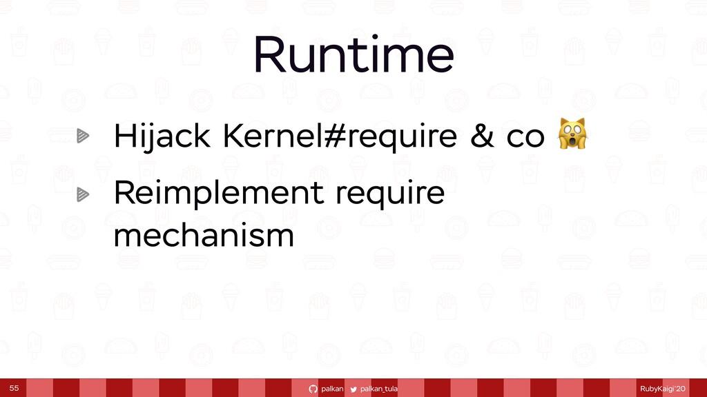 palkan_tula palkan RubyKaigi'20 Hijack Kernel#r...