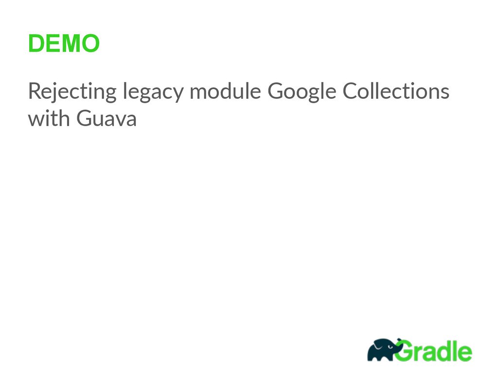 DEMO Rejecting  legacy  module  Google  Collect...