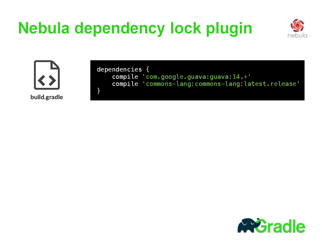 Nebula dependency lock plugin build.gradle 