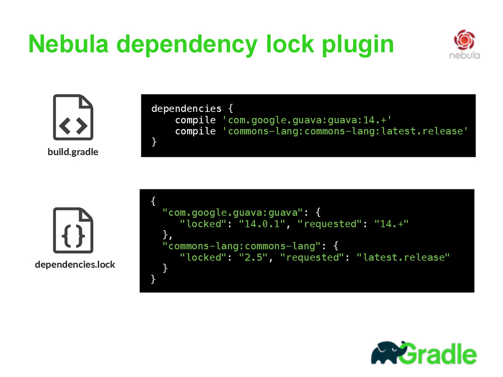 Nebula dependency lock plugin build.gradle     ...