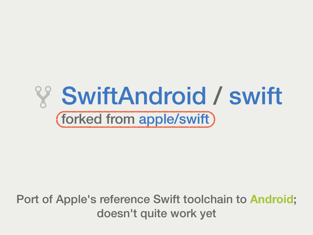 Port of Apple's reference Swift toolchain to An...