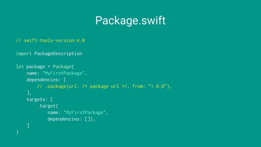 Package.swift // swift-tools-version:4.0 import...