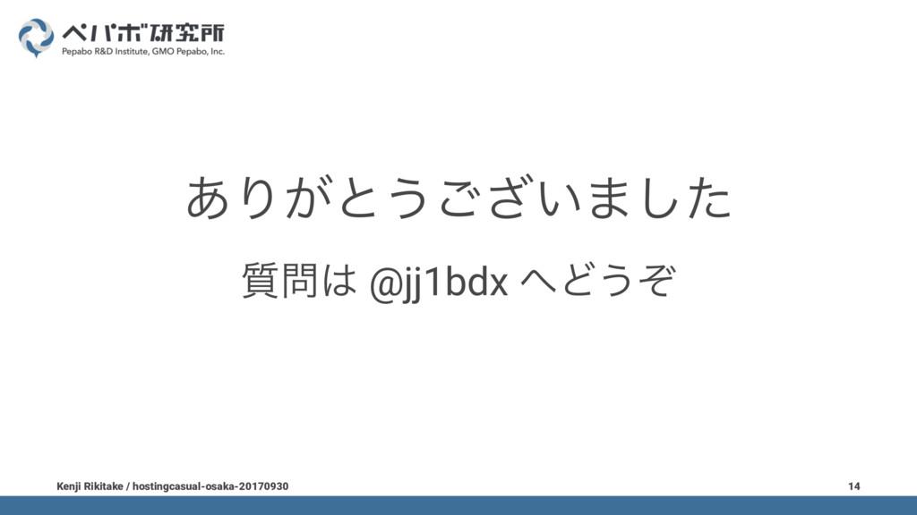 ͋Γ͕ͱ͏͍͟͝·ͨ͠ ࣭ @jj1bdx Ͳ͏ͧ Kenji Rikitake / h...