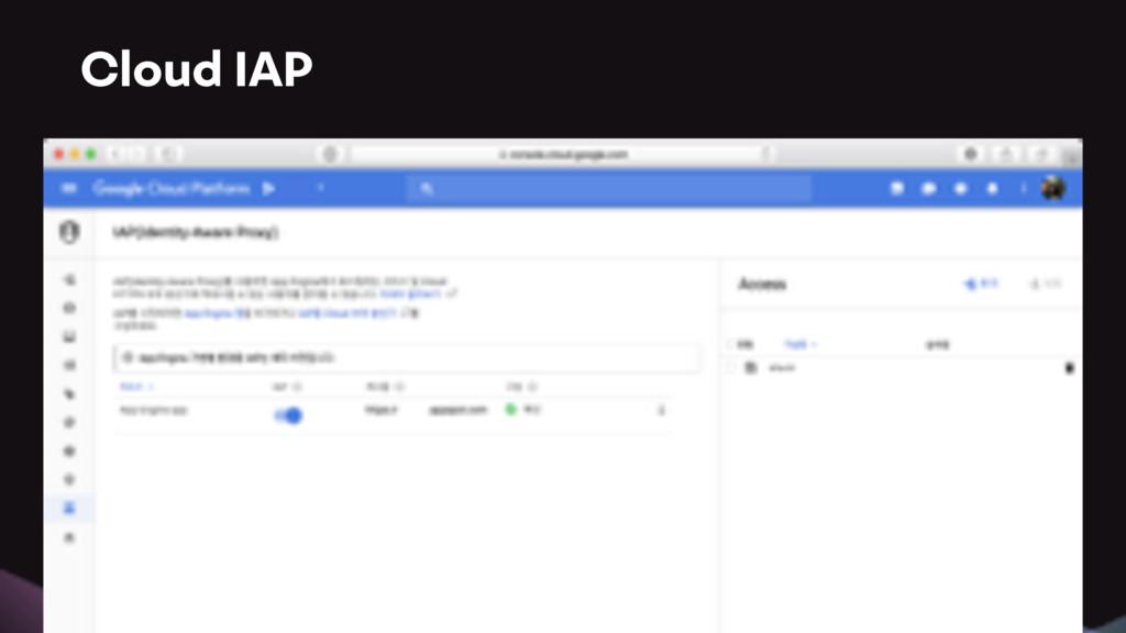 Cloud IAP