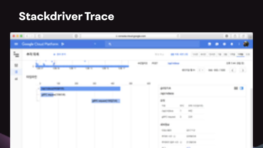 Stackdriver Trace