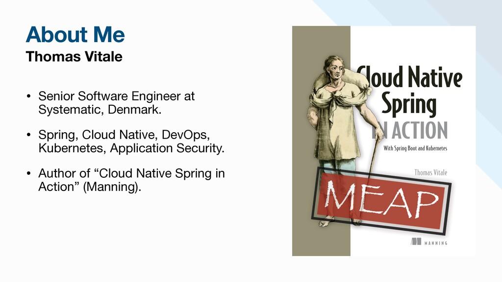 Thomas Vitale • Senior Software Engineer at Sys...