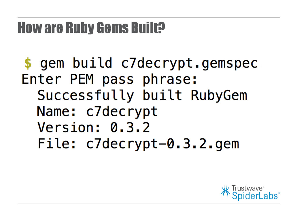 How are Ruby Gems Built?
