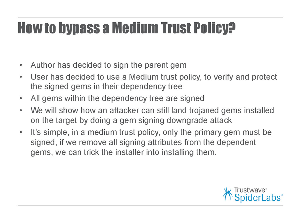 How to bypass a Medium Trust Policy? • Author ...
