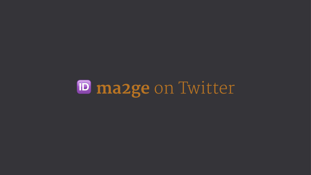 ! ma2ge on Twitter