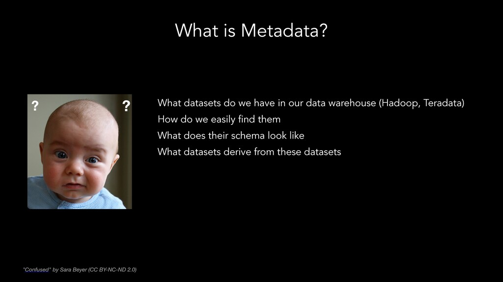 What is Metadata? What datasets do we have in o...