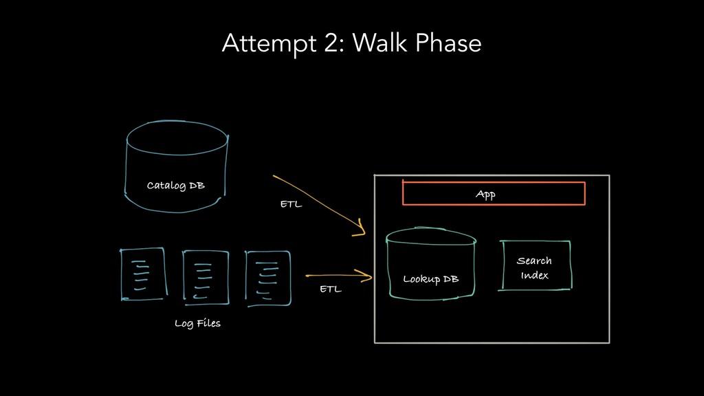 Attempt 2: Walk Phase