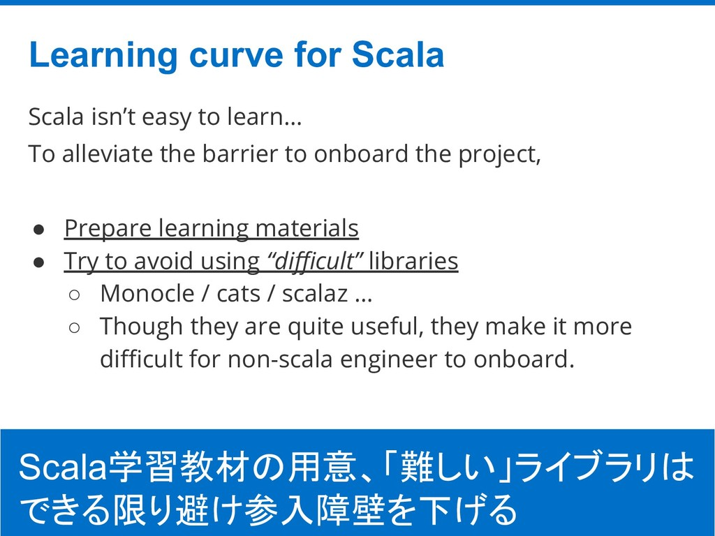 ©Hatena Co., Ltd. Scala isn't easy to learn… To...