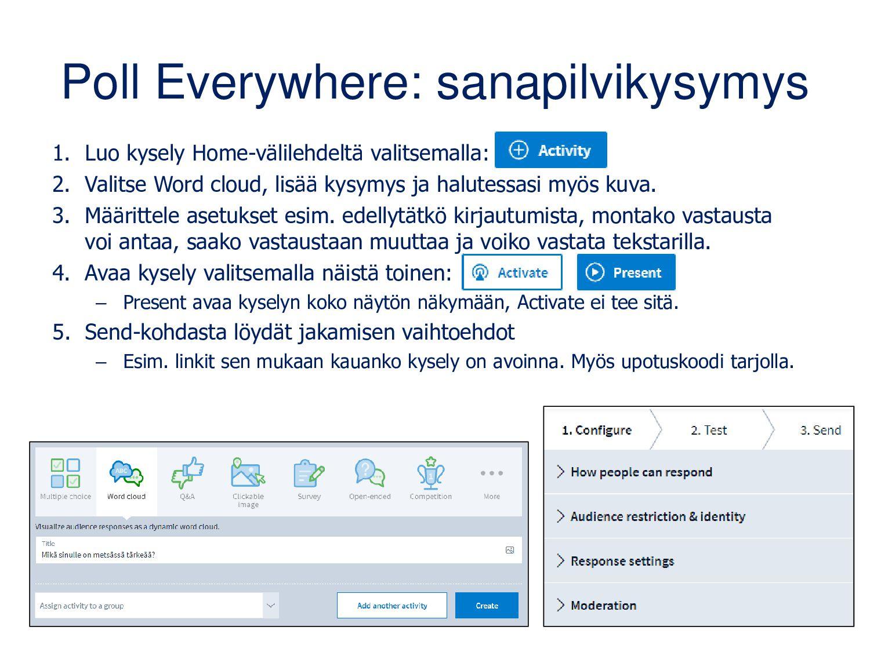 www.wordclouds.com • Toimii pc-koneella ja mobi...
