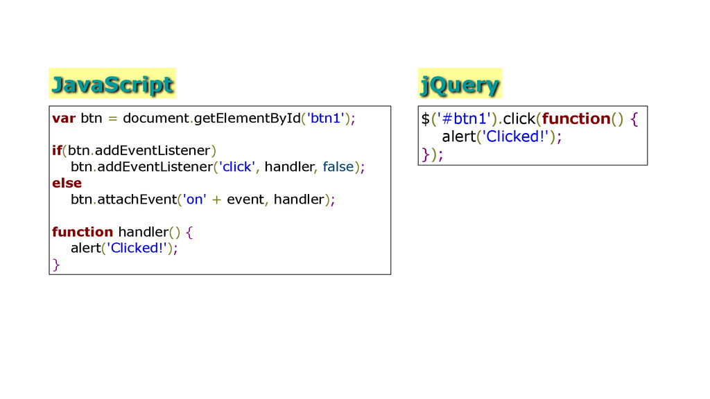 JavaScript var btn = document.getElementById('b...