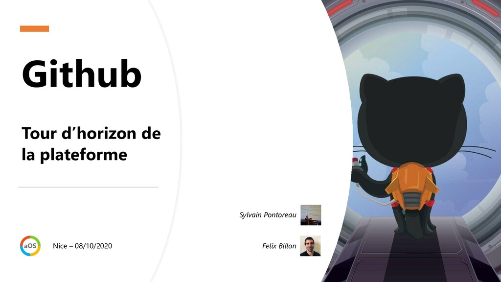 Github Tour d'horizon de la plateforme Nice – 0...