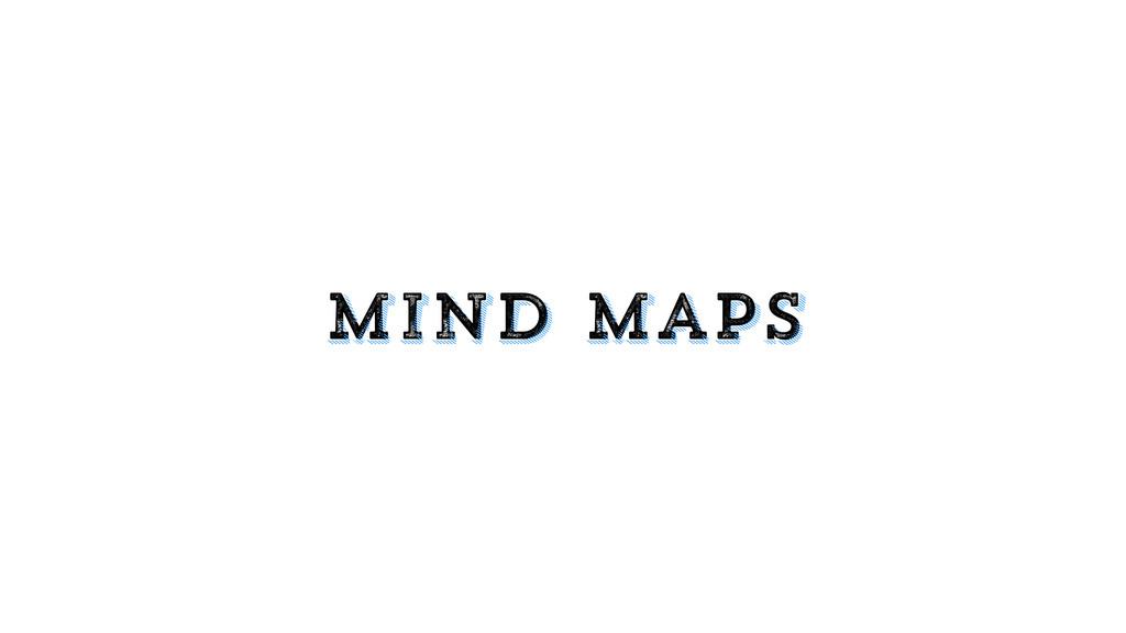 mind maps mind maps