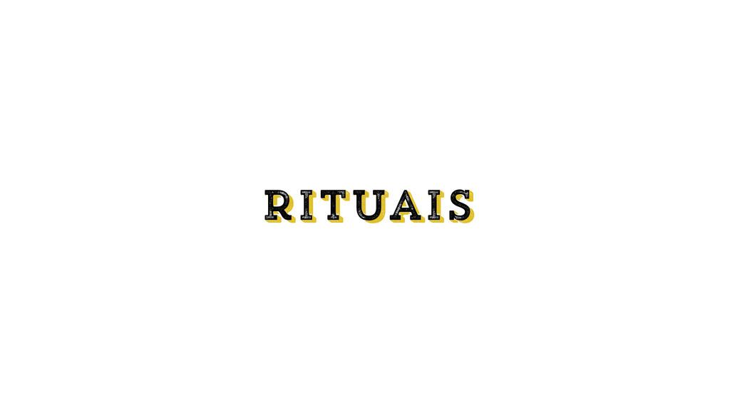 rituais rituais