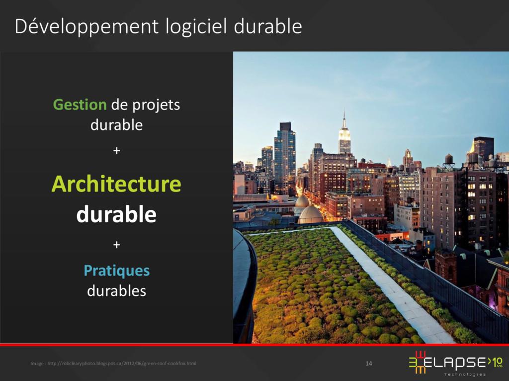 Gestion de projets durable + Architecture durab...