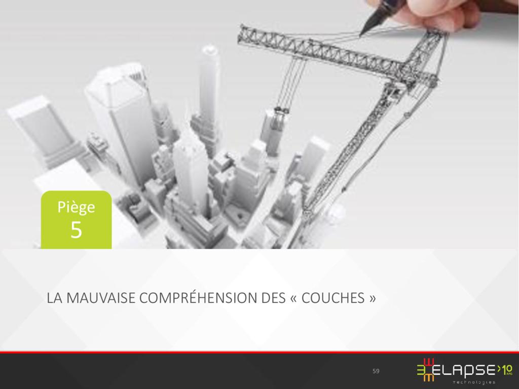 LA MAUVAISE COMPRÉHENSION DES « COUCHES » 59 Pi...