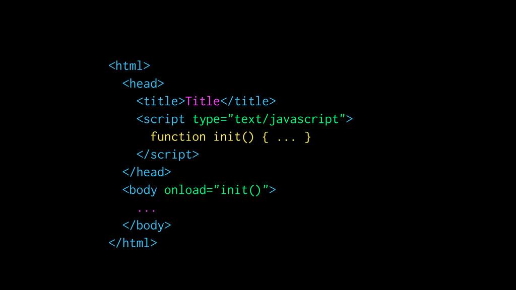 <html> <head> <title>Title</title> <script type...