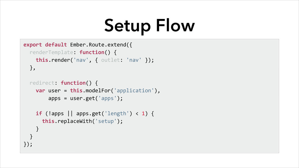 Setup Flow export	
