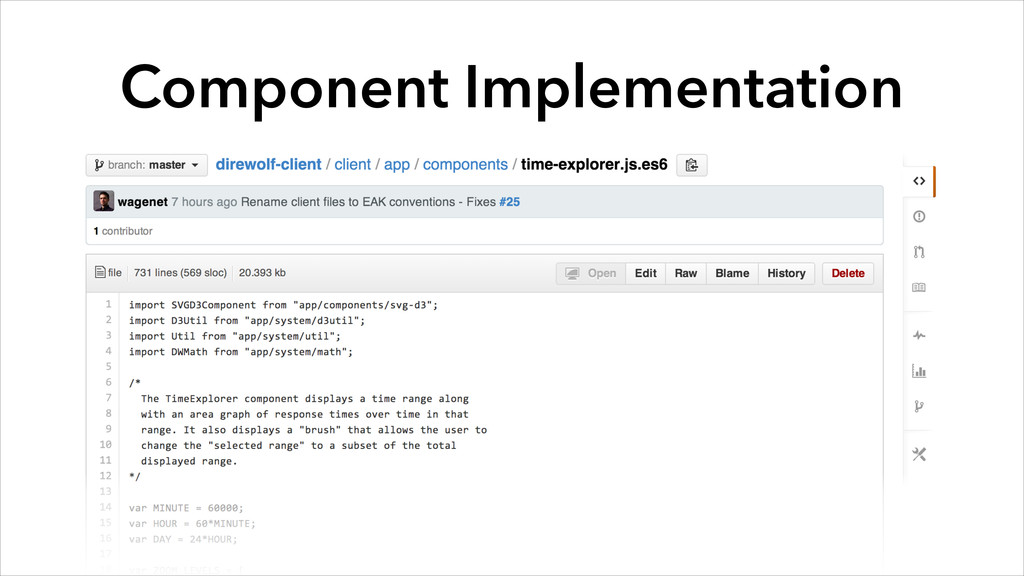 Component Implementation